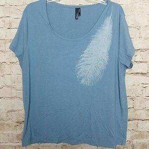 She Said Tee Shirt  Size XL  Blue